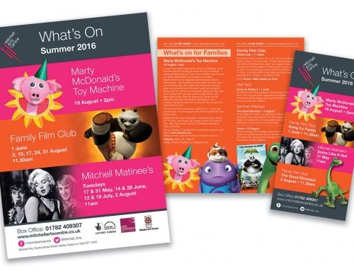 Mitchell Arts Centre Promotional Literature