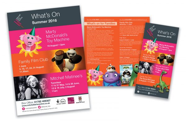 Mitchell Arts Centre Promotional Work