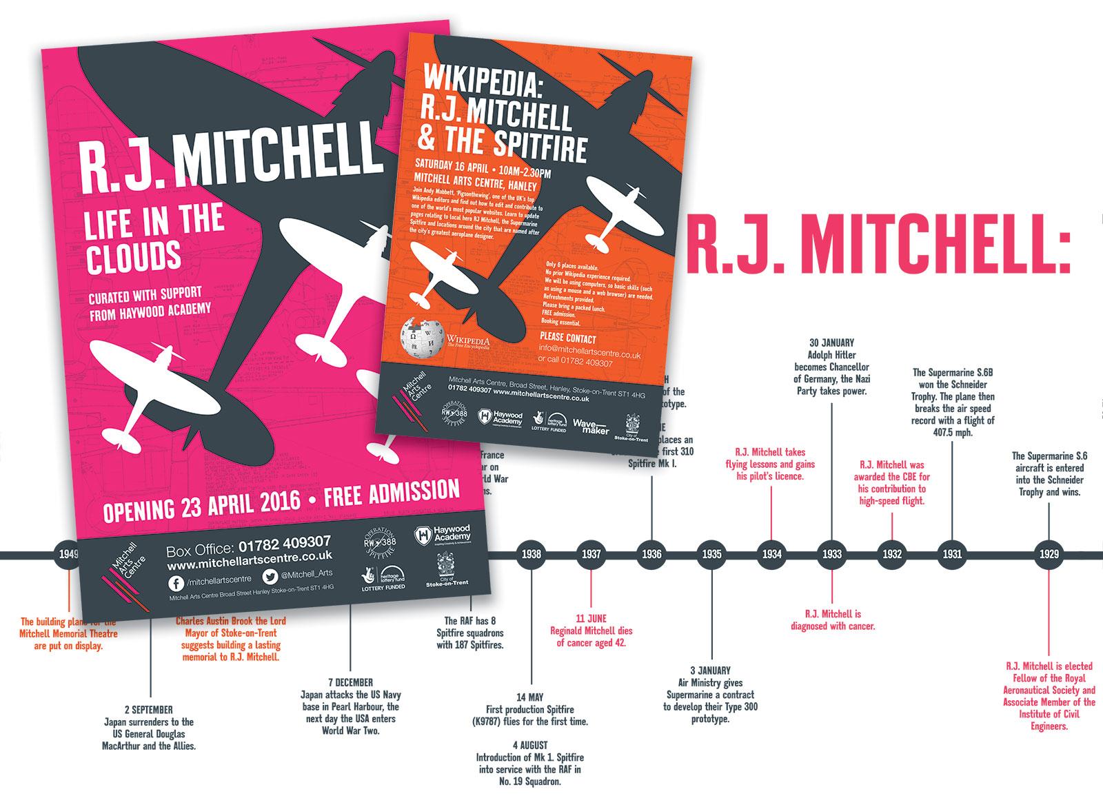 Reginald Mitchell Exhibition