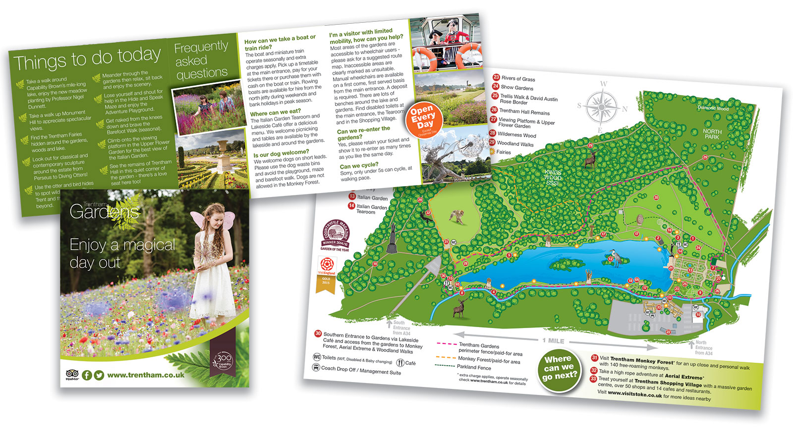 Trentham Gardens Pocket Guide