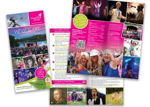 Trentham Gardens What's On Summer Leaflet 2016
