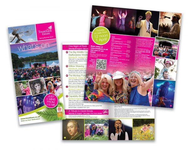Trentham Gardens What's On Summer Leaflet 2016