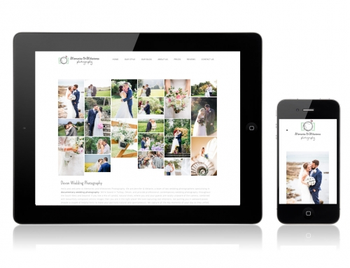 Devon wedding photography website